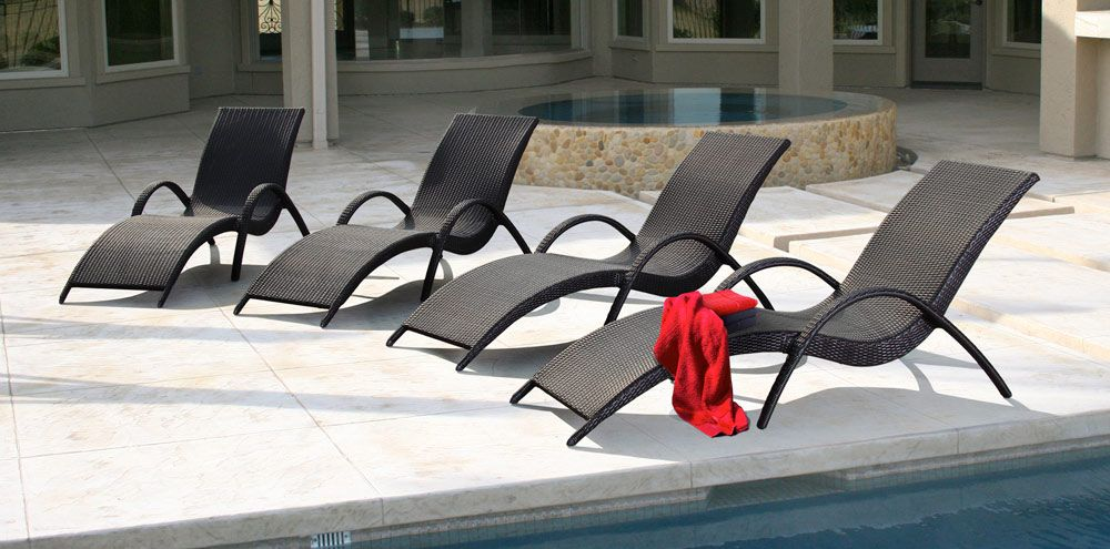 Madrid Collection Veranda Classics By Foremost Wicker Chaise