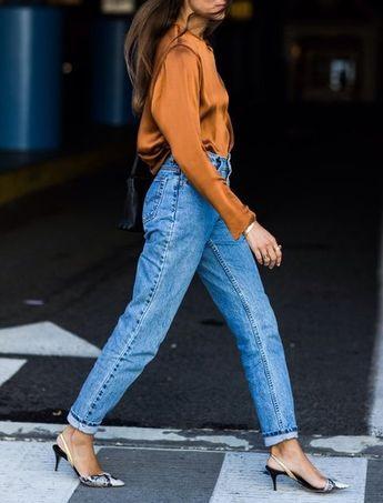 Photo of Kitten-Heel-Slingbacks lassen selbst Jeans und T-Shirt elegant aussehen | freundin.de