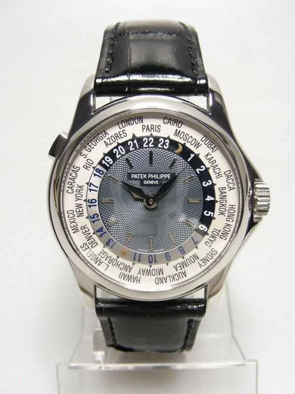42bebb8f7db Worldtimer Platinum - Patek Philippe - Le Collection Heure