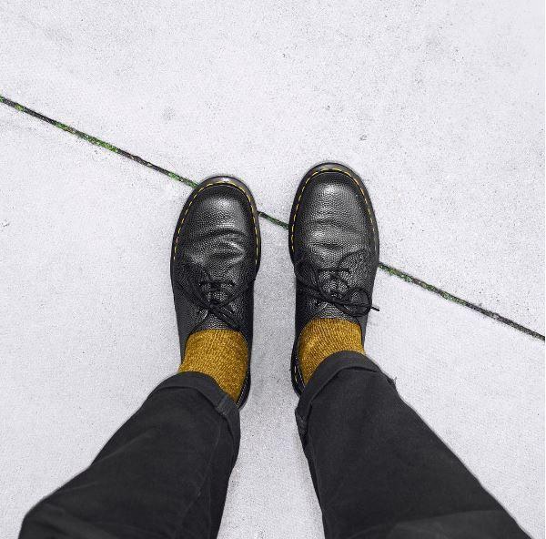 1461 Pebble 3 Eye Shoes