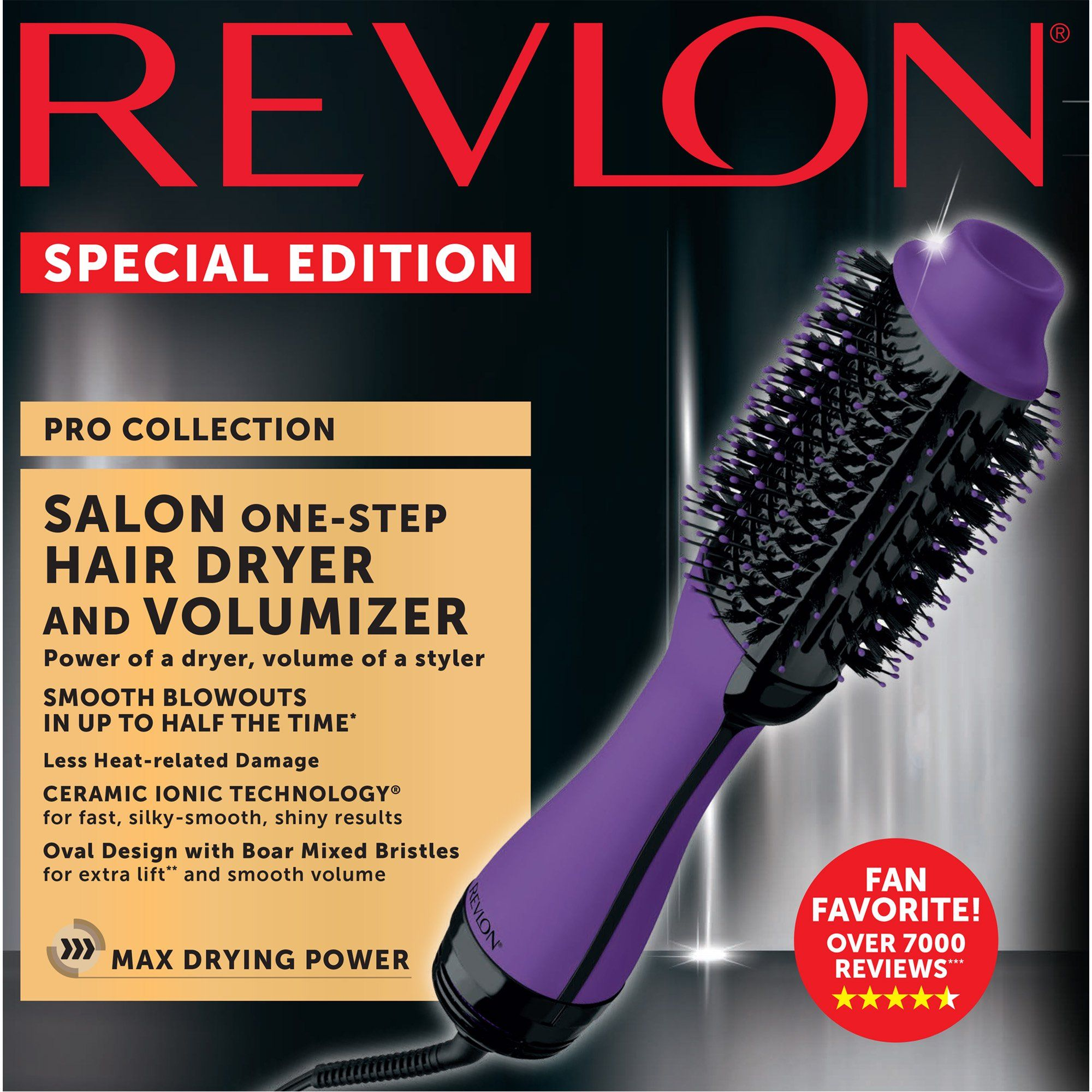 Revlon OneStep Hair Dryer & Volumizer Hot Air Brush