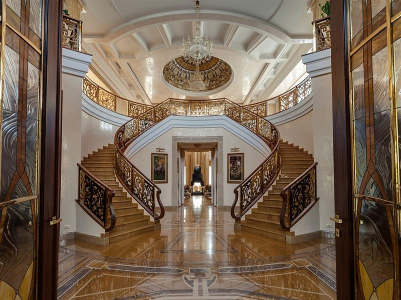 Sprawling 27000 Sq Ft Russian Mansion Lists For 80