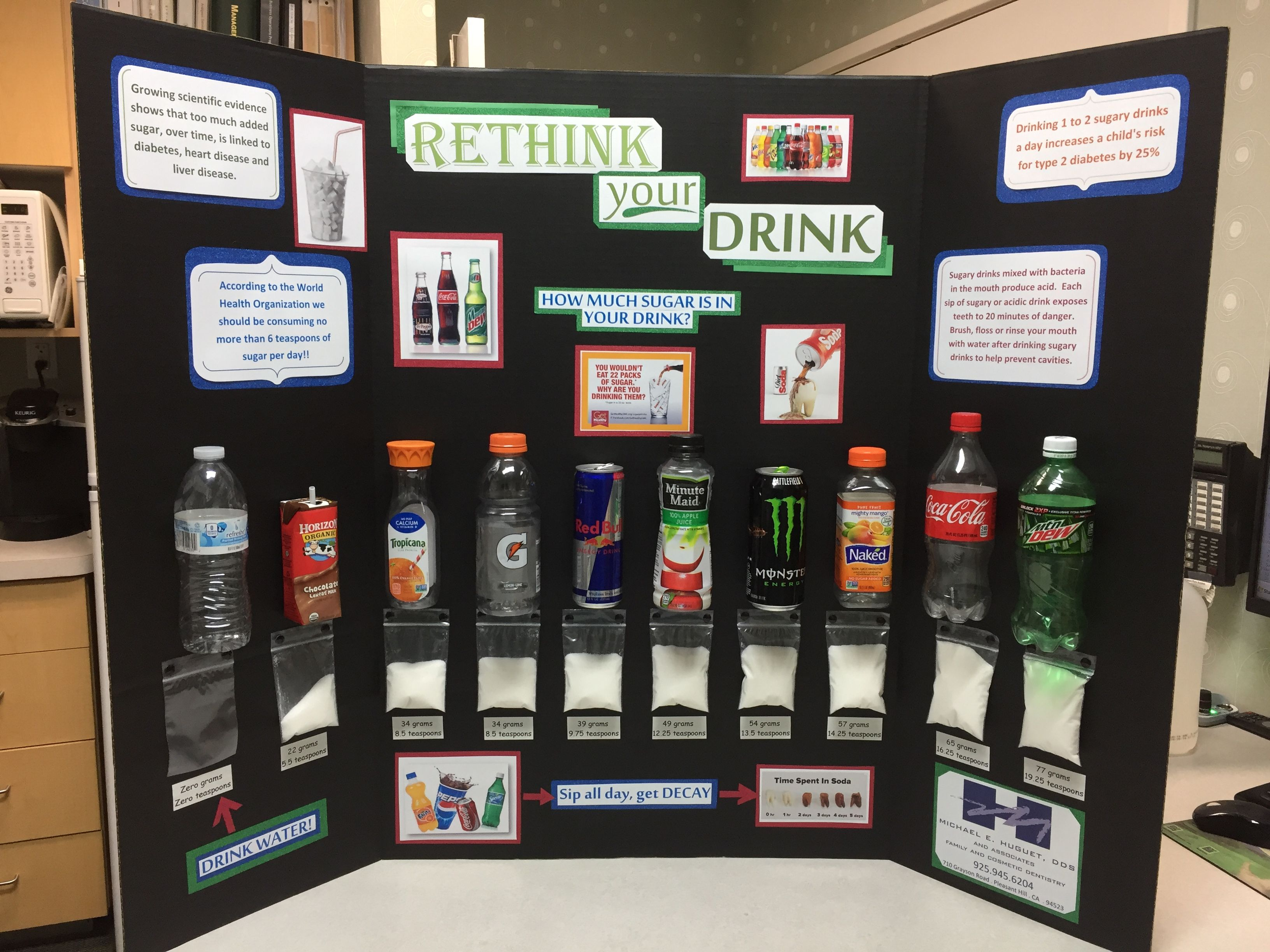 Rethink Your Drink Sugary Drinks Are Bad For Your Teeth