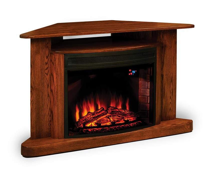 Remarkable Amish Classic Corner Tv Stand Led Electric Fireplace With Interior Design Ideas Inesswwsoteloinfo
