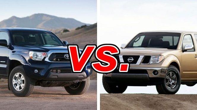 Toyota of N Charlotte is comparing the N Charlotte Toyota Tacoma