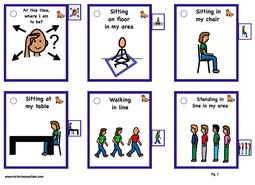 Communication Behavioral Cues Cue Cards Social Skills Autism Behavior