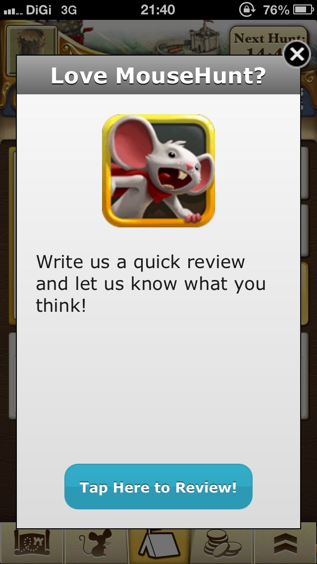 Review Mouse Hunt App for iOS on App Store.