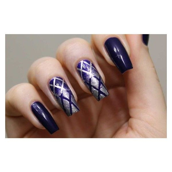 Nail Art Using Scotch Tape 60 Photos Liked On Polyvore Featuring