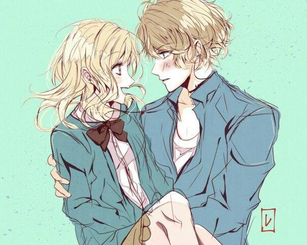 Diabolik Lovers (More Blood)- Yui x Shu #Anime #Game #Otome