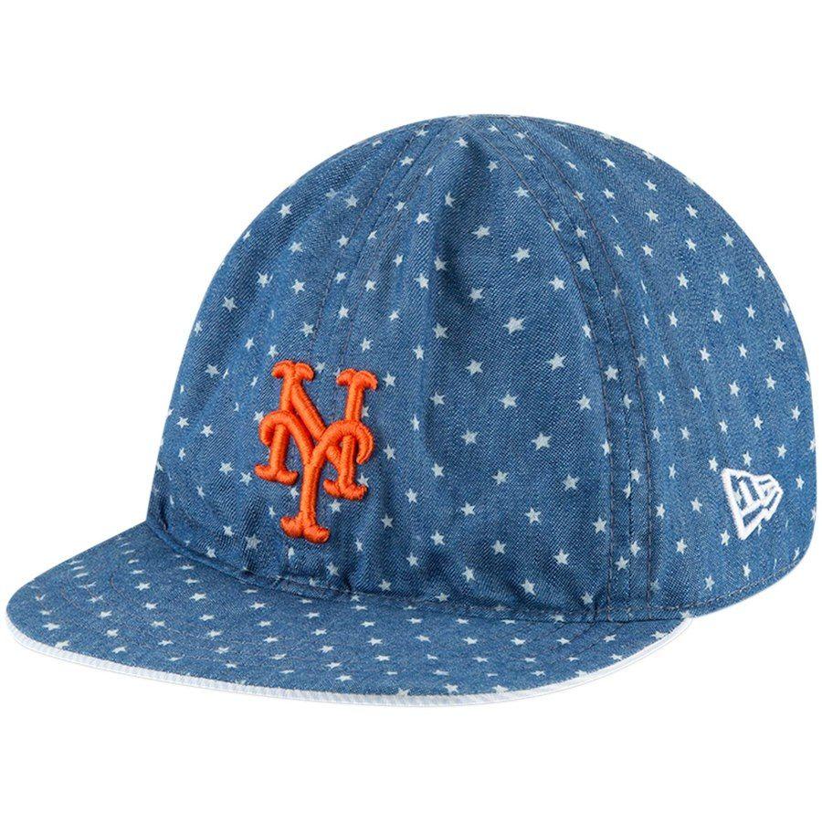 7a0b8c2c106 Toddler New York Mets New Era Denim Flip 9TWENTY Adjustable Hat ...
