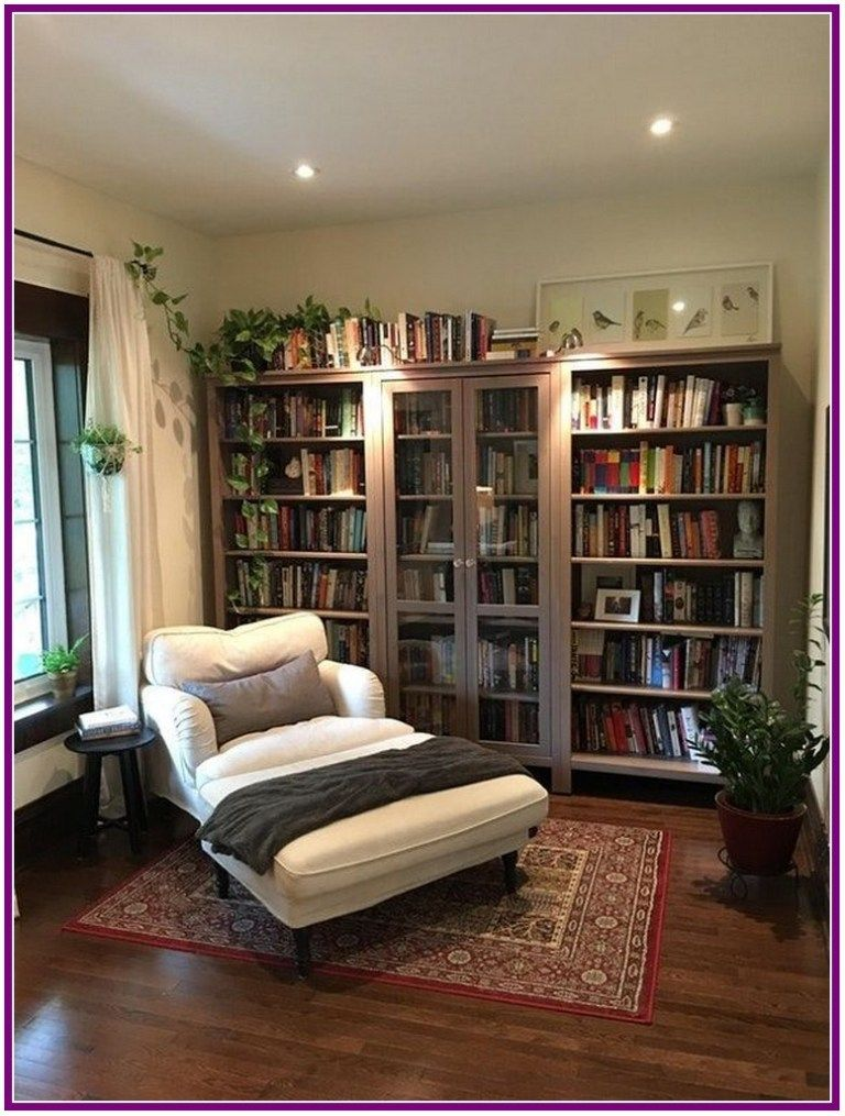 25+ Reading Room Decor Inspiration to Make You Cozy ...