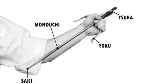Sai looks like kind of a dagger, but actually it acts more like a club.  Used for striking and blocking.  Just one of the advanced weapons we teach at Samurai Karate Studio.  www.samuraikarate.net