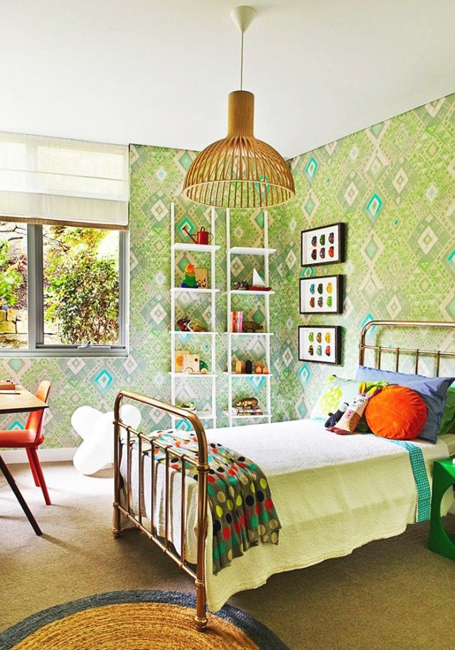 Inside a Bright and Bold Artist's Residence via @mydomaine
