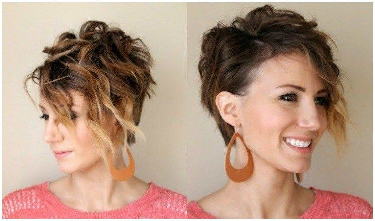 Kurze Haare Locken Frisuren Mit Locken Für Kurzhaarschnitt Selber