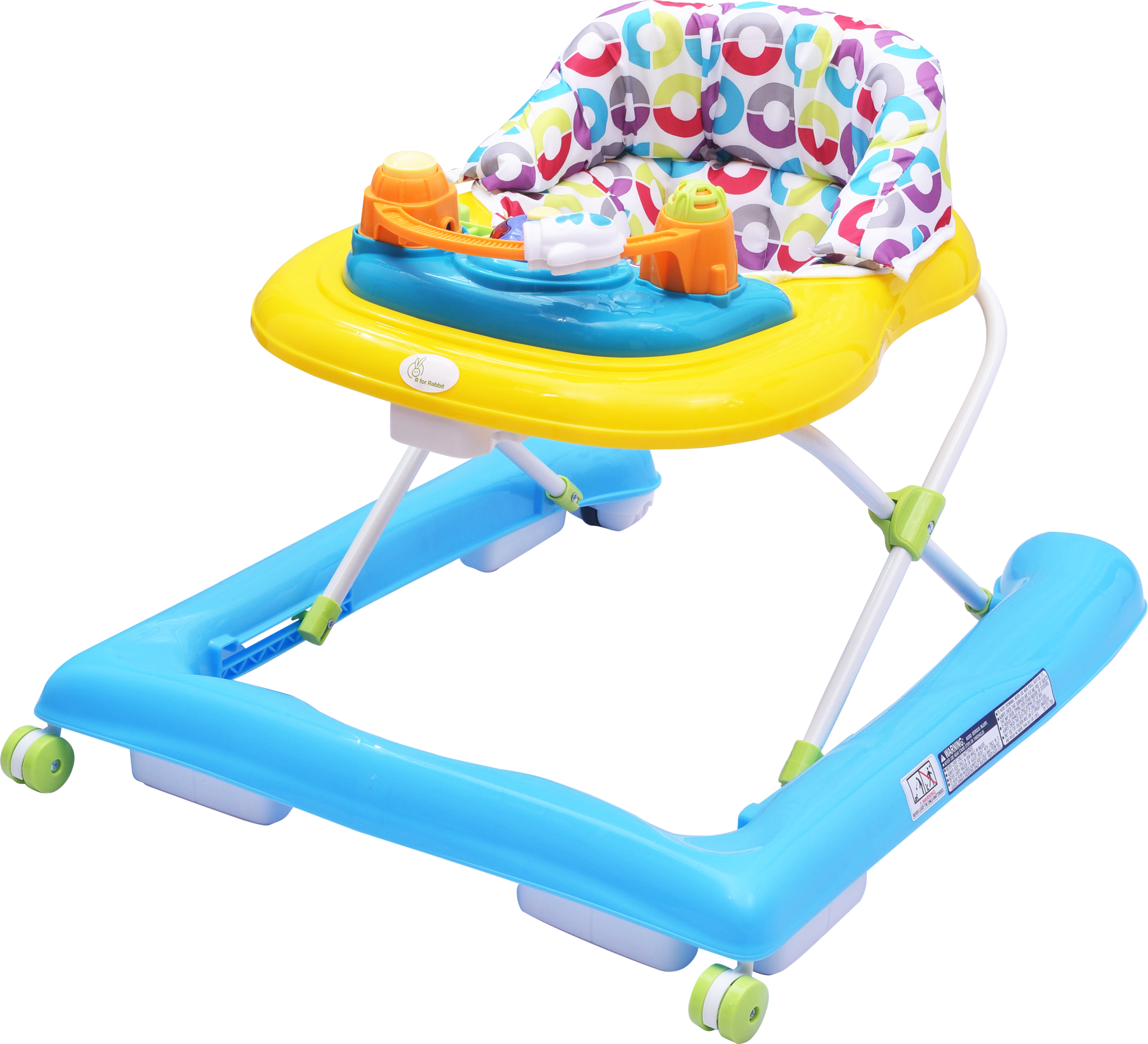 R for Rabbit Zig Zag The Anti Fall Safe Baby Walker with