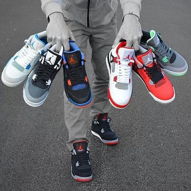 Nike Air Jordan 4 Élevé Faux Ongles