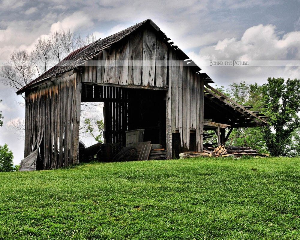 The Old Country Barn Fine Art Photograph Via