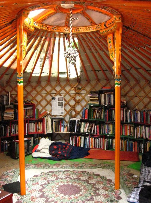 Yurt Library Yes With A Day Bed Would Still Need A Fire