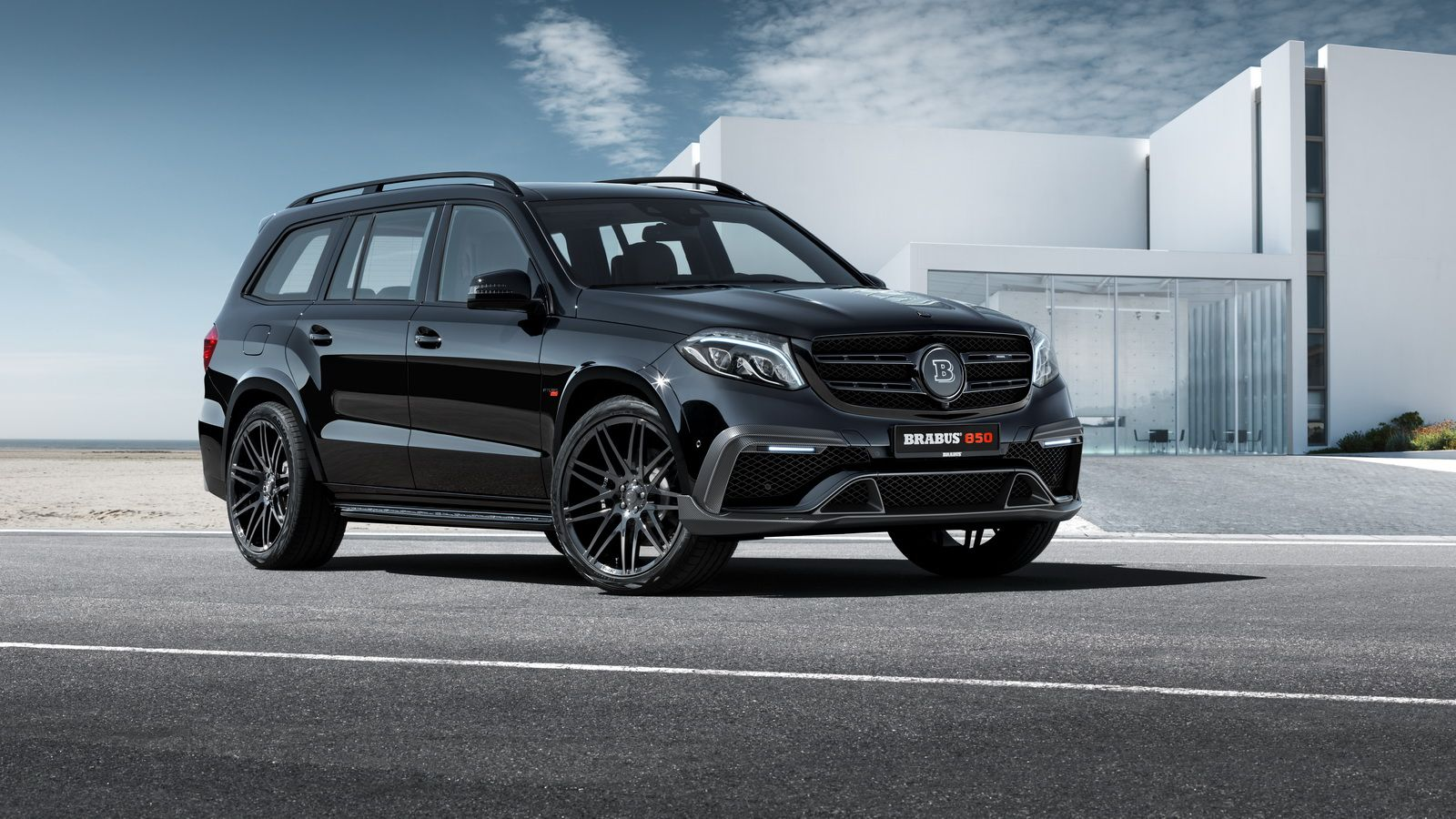 Brabus 850 Xl Takes Mercedes Gls To The Next Level Beyond With