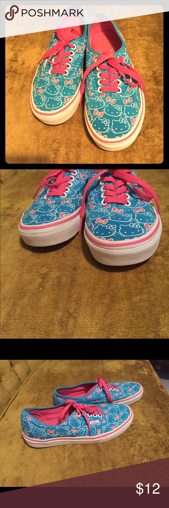 668ee31d12 Pinterest Pinterest Pinterest W8 M6 Sneakers 5 5 5 Pink Kitty Hello And Blue  Vans w14TqBT