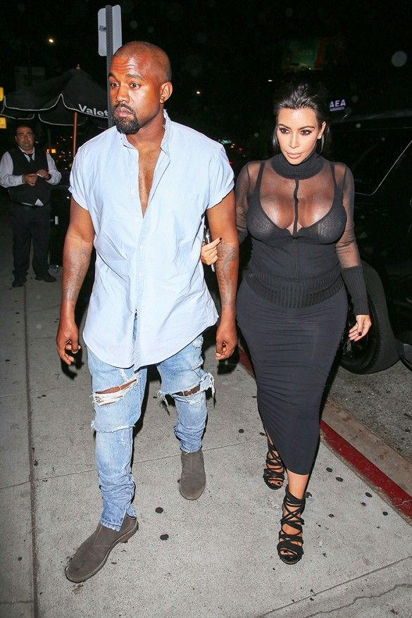 What The Kardashian Family Wore To Kylie Jenner S 18th Birthday Kanye West Style Kanye West Outfits Kanye West And Kim