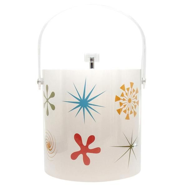 This Retro Style Ice Bucket Features Destination Psp S