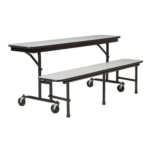 """Found it at Wayfair - Convertable 22"""" x 96"""" Rectangular Cafeteria Table"""