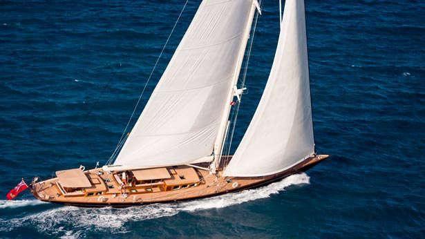 Segelyacht modern  Pumula - Royal Huisman's modern take on the gentleman's yacht ...