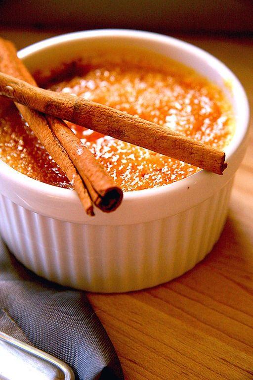 pumpkin pie creme brulee