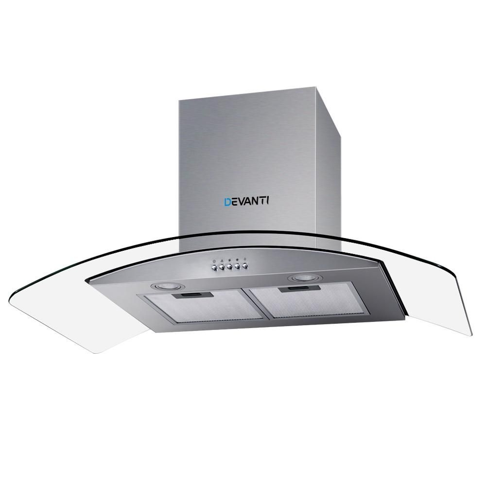 Range Hood 900mm Rangehood Kitchen Stainless Glass Canopy 90cm Pay Later With Afterpay Zip Or Laybuy A Range Hood Stainless Steel Range Stainless Range Hood