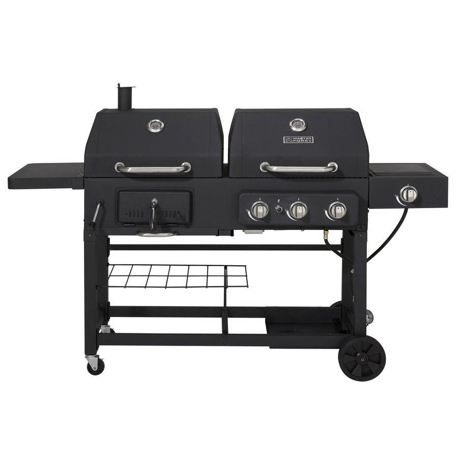 Master Forge 3 Burner 36 000 Btu Dual Fuel Grill Bbq Grills For