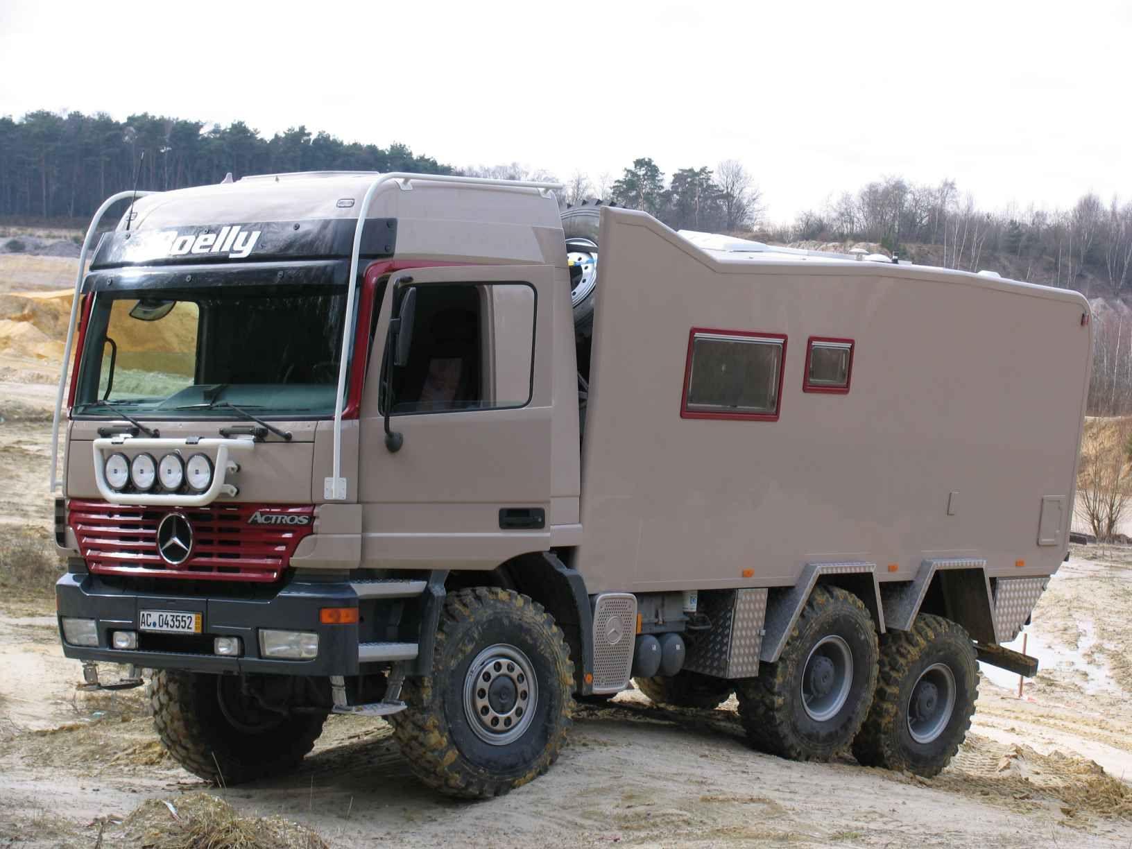 rv unimog | dutchman paul aalmans knows his off road campers