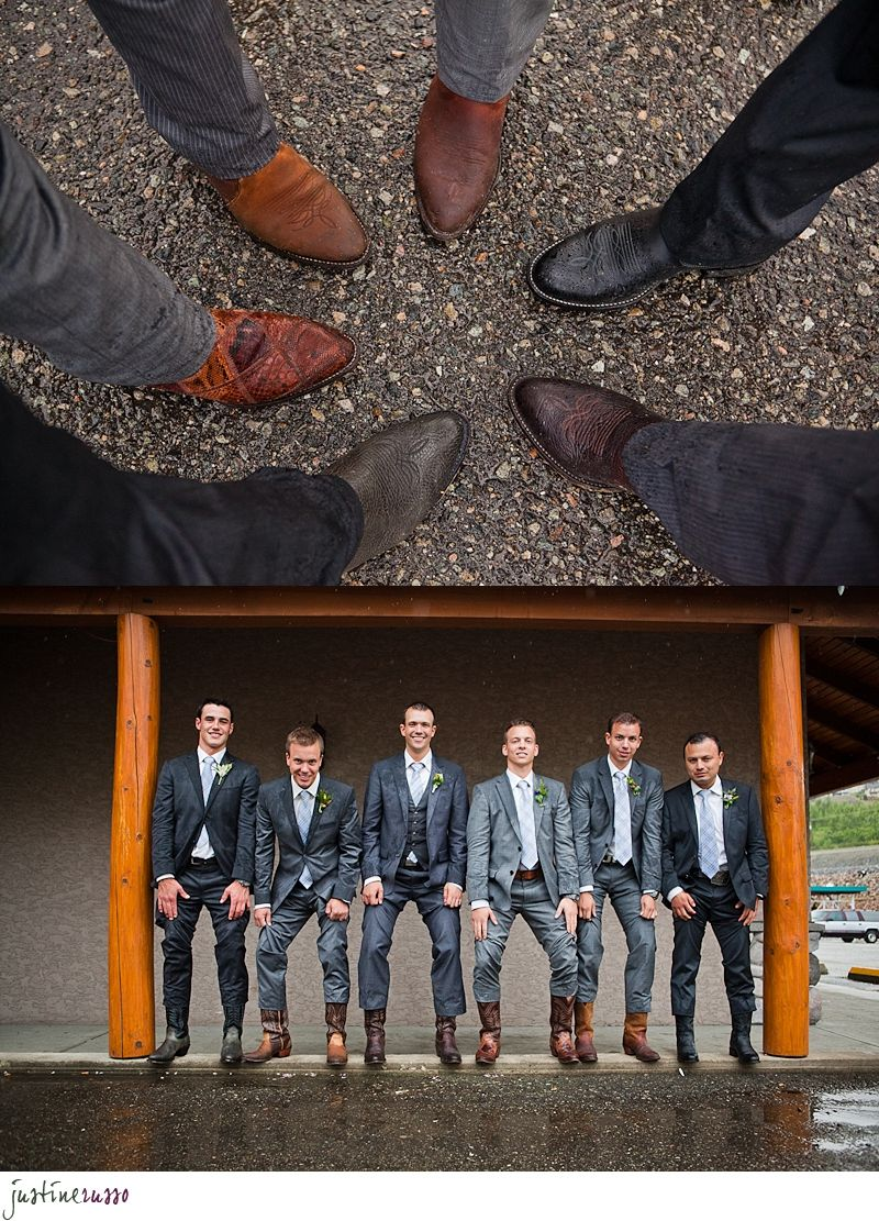 Boots On The Grooms Men Suit With Cowboy Boots Wedding Cowboy Boots Wedding Groomsmen Attire