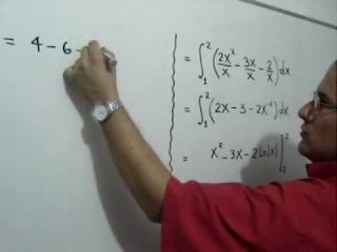 Integral Definida: Julio Rios explica cómo resolver una integral definida aplicando el Teorema Fundamental del Cálculo