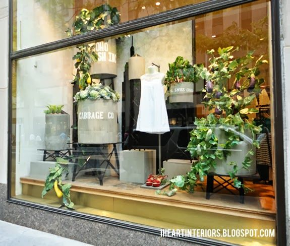 Garden Window Displays Anthropologie Window Display Summer