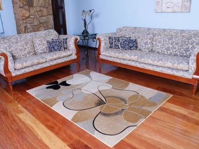 Tapete Marbella Flor 98 x 150cm - Rayza com as melhores condições você encontra no Magazine Siarra. Confira!