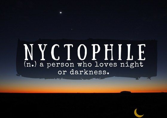 Nyctophile Ancient Greek Words Uncommon Words Unusual Words