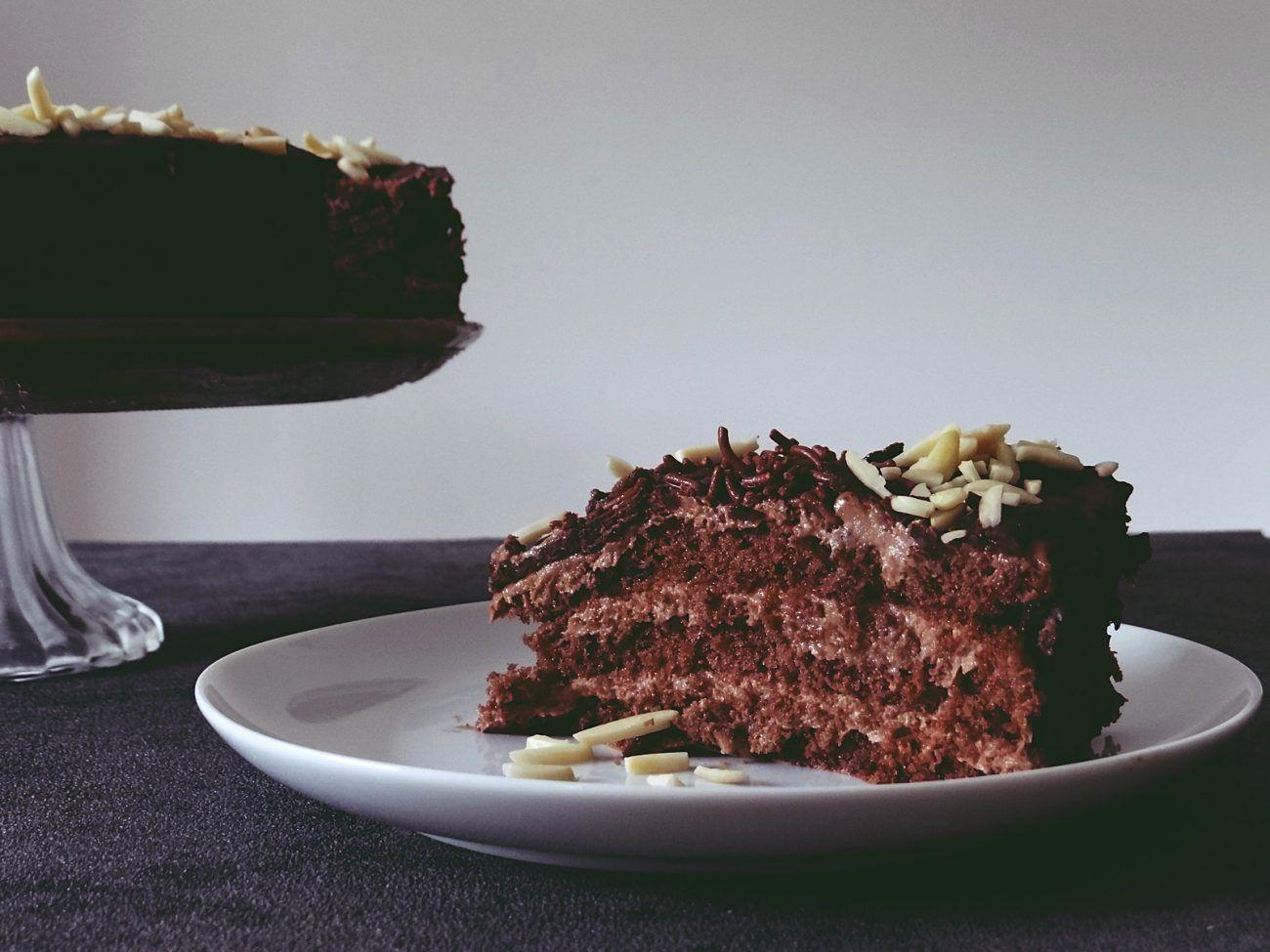 Schoko Kirsch Kuchen Mit Vanille Quark Fullung Unalife Schoko Kirsch Kuchen Saftiger Schoko Kirsch Kuchen Kuchen