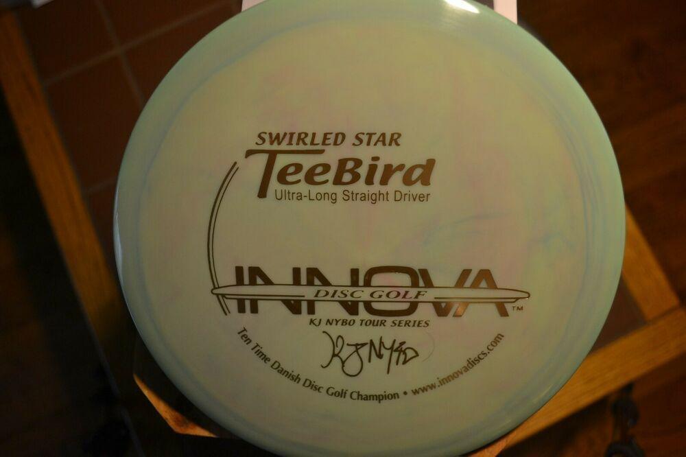 Advertisement Ebay Innova Kj Nybo Tour Series 10x Swirled Star Teebird 8 5 10 175grms Swirls Ebay Innova Disc Golf