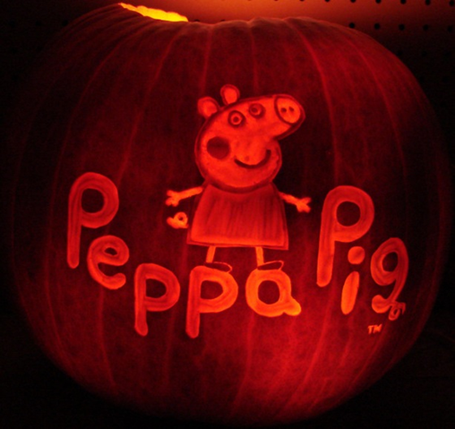 pumpkin template peppa pig  Are you carving a Peppa Pig pumpkin this year? #PeppaPig ...