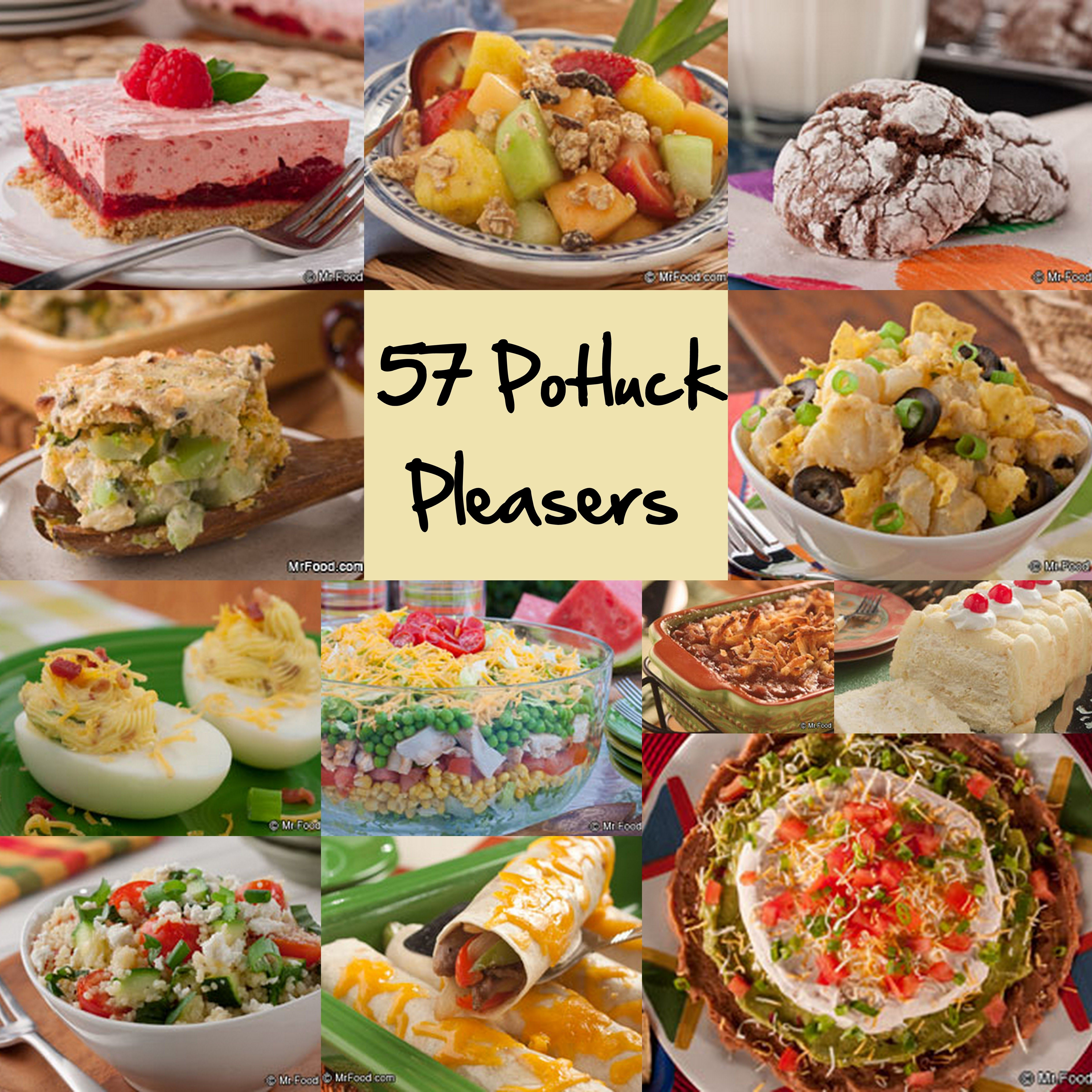 Easy recipes for potluck parties