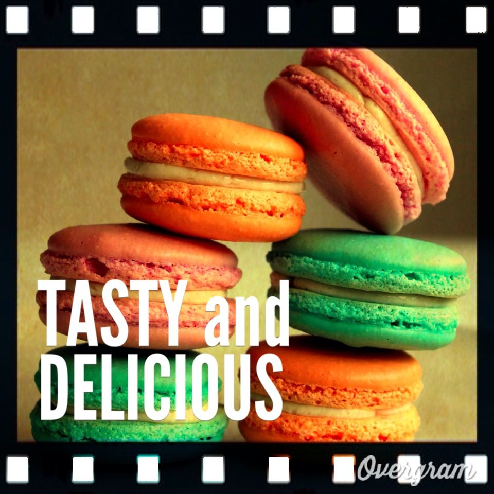 Tasty and Delicious - Made with Overgram for iPod/iPhone