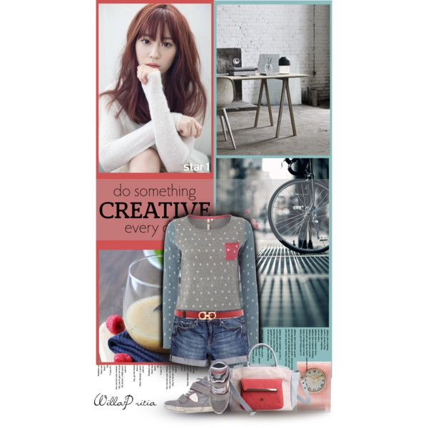 """""""do something creative everyday"""" by willapritia on Polyvore"""