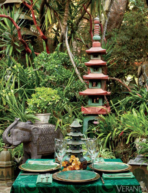 Well-Set: Hutton Wilkinson\'s Tables of Fancy | Pinterest | Jardines ...