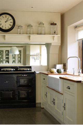 Love The Giant Jars Cream Country Kitchen With Black Aga Martin