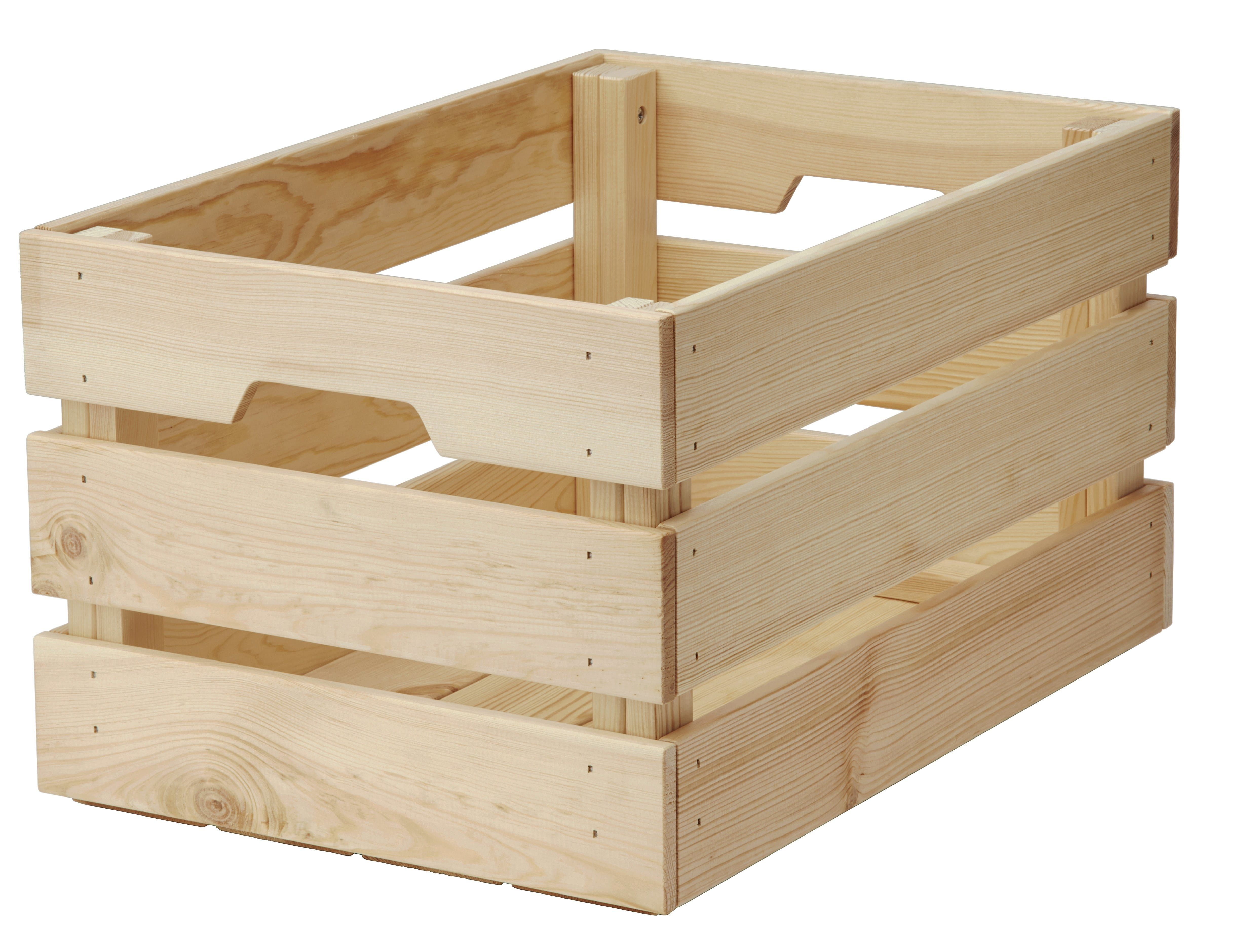 we're terribly excited about the new wine crates from ikea (yes