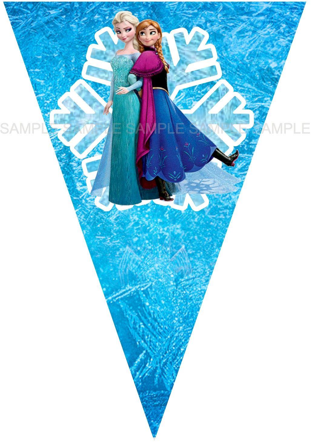 Disney S Frozen Birthday Banner Diy Instant Download Disney