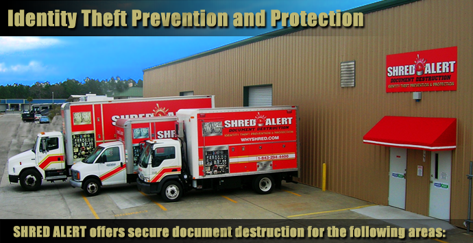 Myrtle Beach Shredding and Document Destruction - Shred Alert Home Page