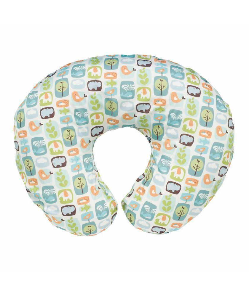 Boppy Cotton Feeding Pillow Stamp