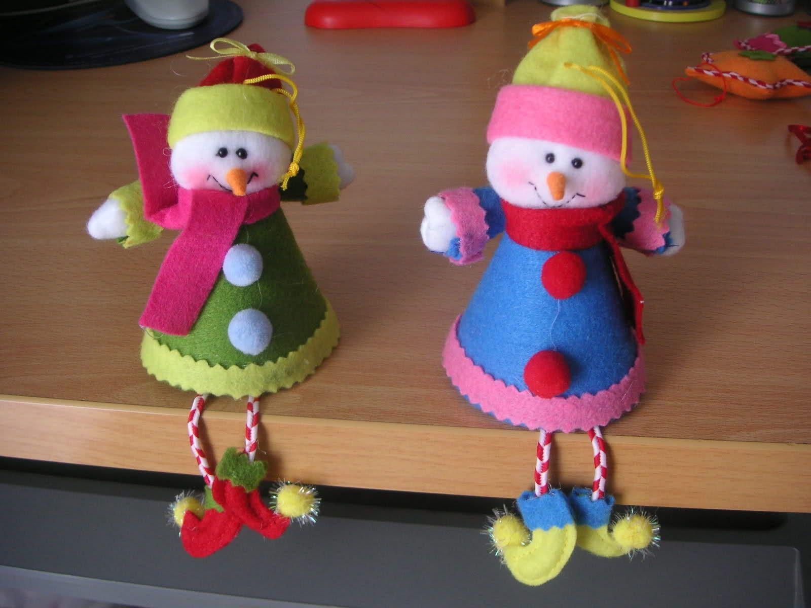 Figuras De Fieltro Para Navidad Foro Manualidades Mundorecetas